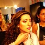 Нина Горлушко показывает нам схему макияжа