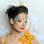 Карнавальный макияж и бодиарт