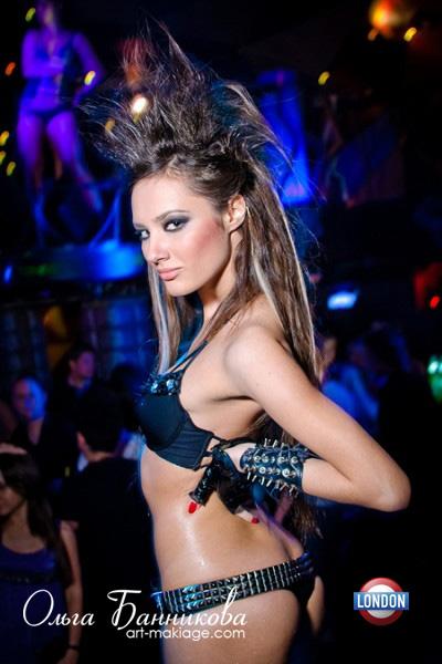 Прическа в ночной клуб своими руками 69