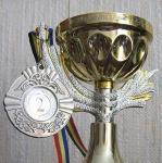 2- место по фантазийному макияжу и бодиарту среди визажистов Молдовы - 2004 год