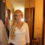 Репетиция свадебного макияжа и причёски Ирины