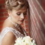 Макияж невесты Людмилы
