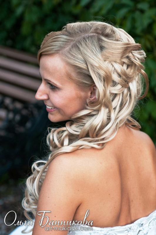 Фото причесок из накладных волос