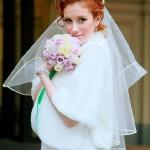 Невеста Евгения - свадебные причёска и макияж