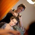 Создание свадебной причёски