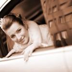 Свадебный лимузин для молодожёнов