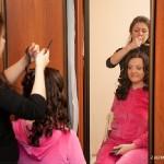 Создание свадебной причёски Ольги