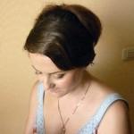 Варианты свадебной причёски и макияжа невесты Ольги