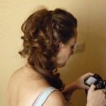 Пробная причёска и макияж