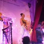 Выступление танцоров клуба Рай