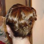 Репетиция свадебной причёски