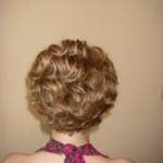 Свадебная причёска невесты - вид сзади