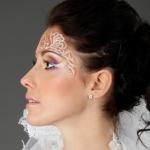 Валерия в свадебном макияже