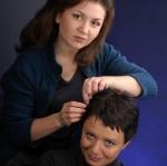 Причёска для фотосессии