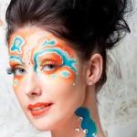 Боди и фейс арт от стилиста визажиста. Портфолио
