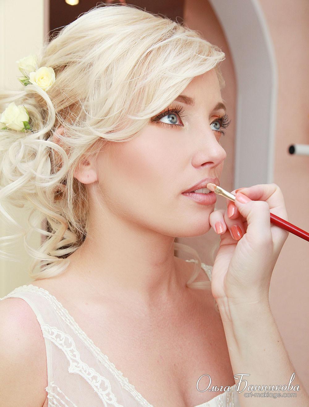 Для невесты макияж для жениха