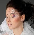 Свадебный фейс-арт для невесты