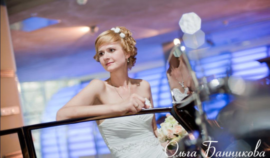 Свадебный образ невесты Ольги