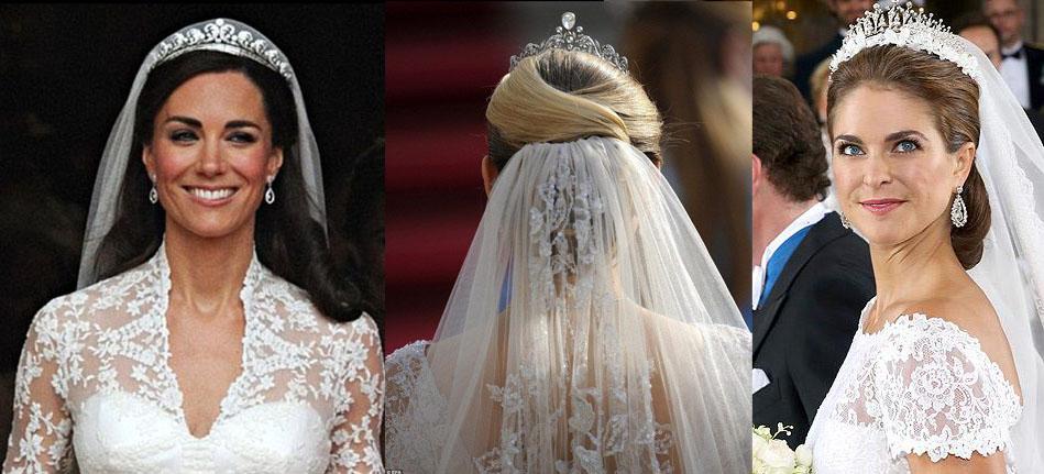 Знаменитые невесты с фатой