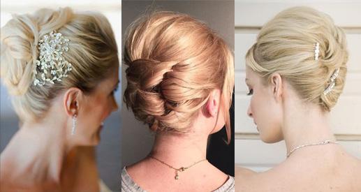 Прическа-улитка на коротких волосах