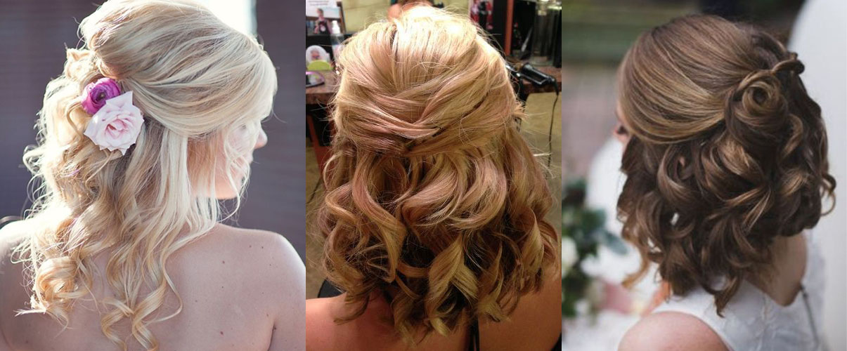 Прически на свадьбу волосы по плечи фото