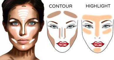 Пошаговый макияж для овального лица фото