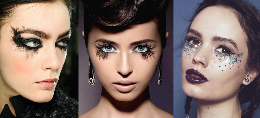 Новогодний макияж. Фейсарт