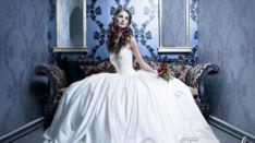 Невеста Эльвира в свадебном платье