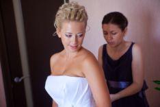 Завершающий этап подготовки - свадебное платье