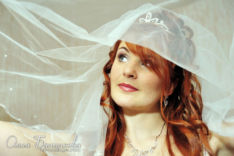 Невеста Зинаида под фатой
