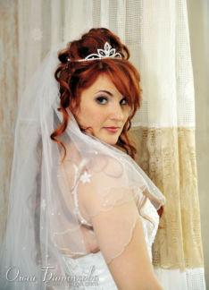 Макияж глаз невесты Зинаиды