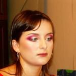 Акварельный макияж для вечернего освещения