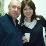 Игорь Семушин - преподаватель по макияжу и я