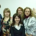 Почти половина нашего коллектива школы макияжа Ателье на 2011 год