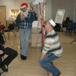 Разыгрывание сценок, танцы, застолье - Ателье, зажигаааееем!