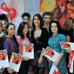 Диплом стилиста-визажиста, участвовавшем в конкурсе по бодиарту в школе макияжа Make Up Atelier