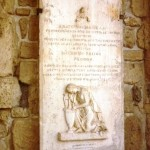 Каменные таблички на Храме Святого Лазаря