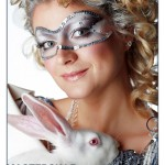 Симовл года - белый кролик