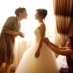 Последние штрихи к свадебному образу