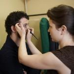 Сценический мужской макияж