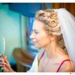 Свадебная причёска Нади