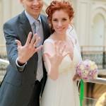 Жених и невеста стали мужем и женой