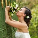 Свадебная причёска и макияж невесты