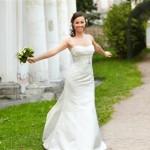 Свадебная прогулка невесты