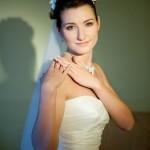 Невеста перед выходом к жениху