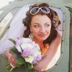 Невеста Света в самолёте
