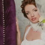 Невеста в фото-студии