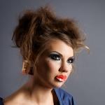 Фото-макияж и причёска для фотосессии
