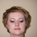 Свадебный макияж и причёска в роматическом стиле
