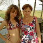 Света и мама